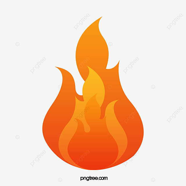 red vector flowing flames red flame red flame vector fire png and rh pngtree com flame vector images flame vector art