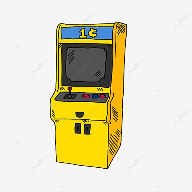 dessin de machine de jeu salle de jeu dessin des produits