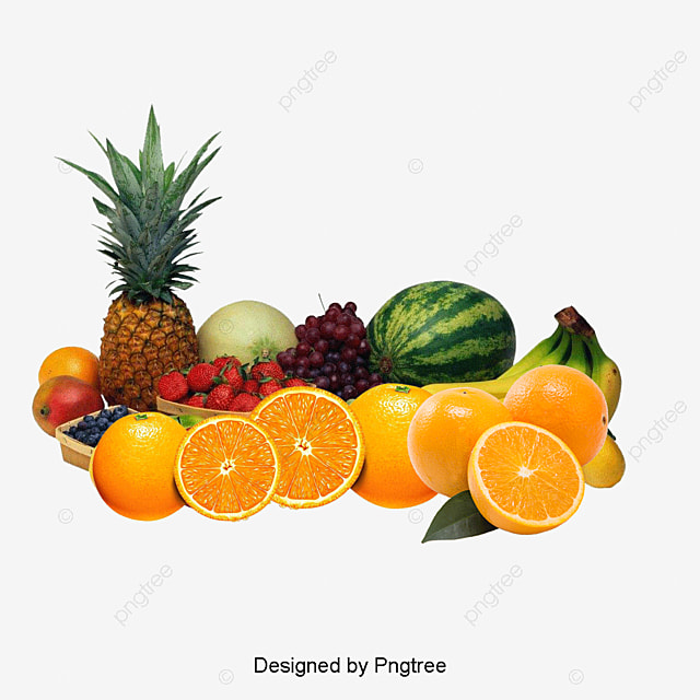 a pile of fruit vegetables orange apple png and psd