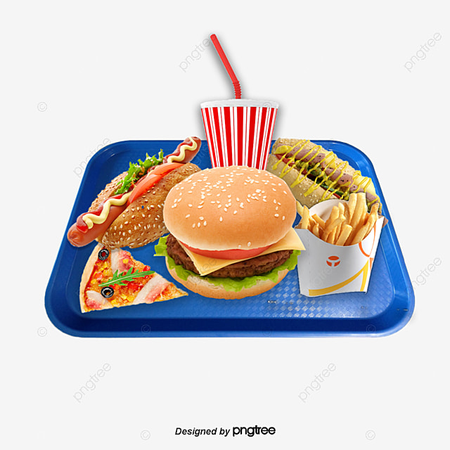 vector hand painted fast food package  food clipart fast food clipart icon fast food clipart black and white