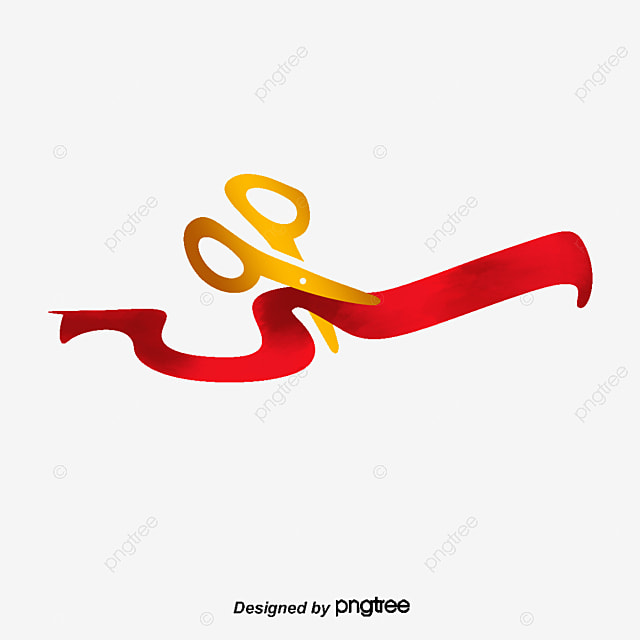 ribbon cutting png images vectors and psd files free download on rh pngtree com ribbon cutting clipart free Blue Ribbon Cutting Clip Art