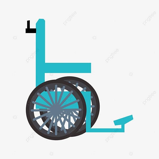 un enfant assis sur le fauteuil roulant dessin un fauteuil roulant ne bouge pas image png pour