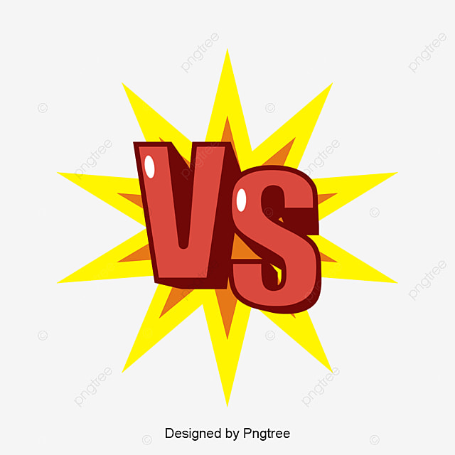 Red Solid Contrast Art Word Vector Png Red English Vs