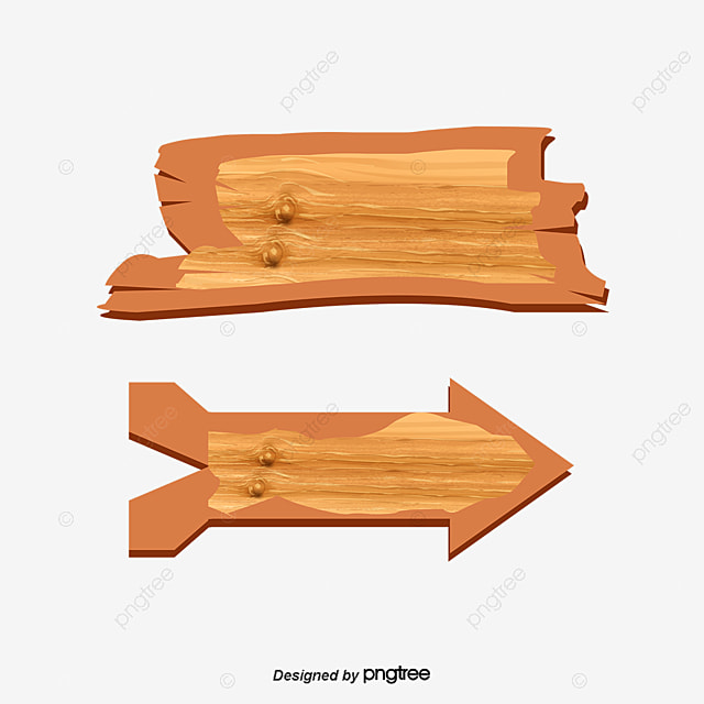 wooden cartoon woodiness cartoon guide board png and vector for rh pngtree com wood vector signs wood vector background