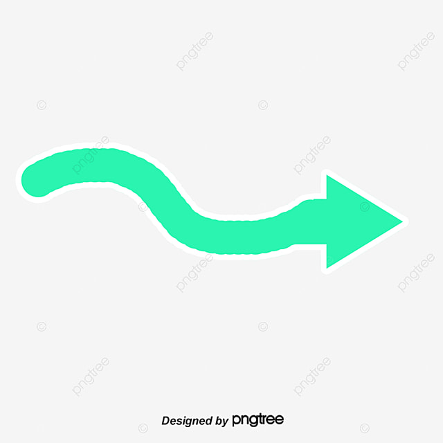 green wave arrow right wave clipart vector png arrow png and
