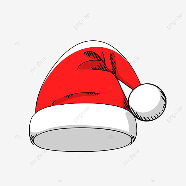 Chapeau De Noel Dessin Rouge Chapeau De Noel Image Png Pour Le