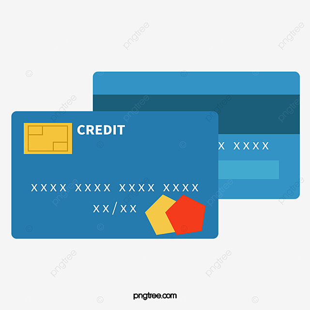 Blue Credit Card 3424415 on le vector