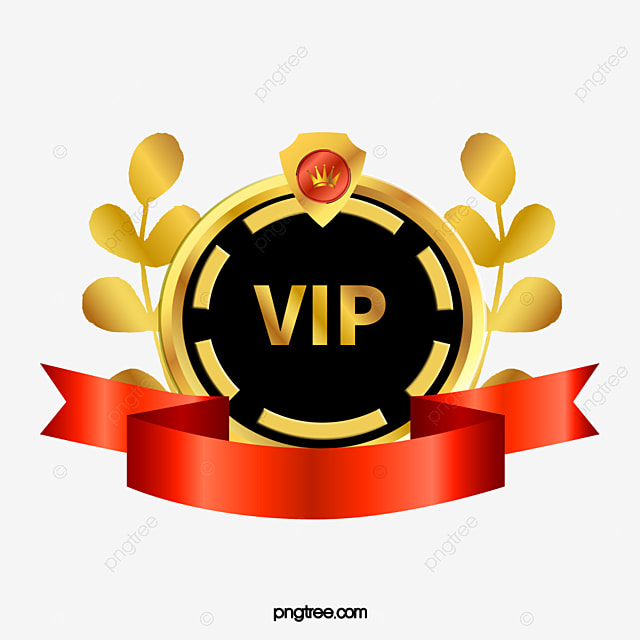 vip guest badge  vip  distinguished guest  badge png and crown vector file crown vector art