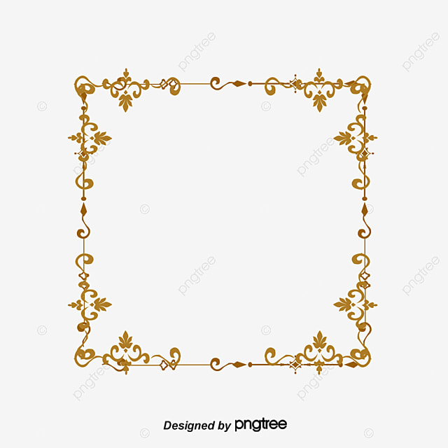 Red Border, Gules, Frame, The Flower Box PNG and Vector for Free ...