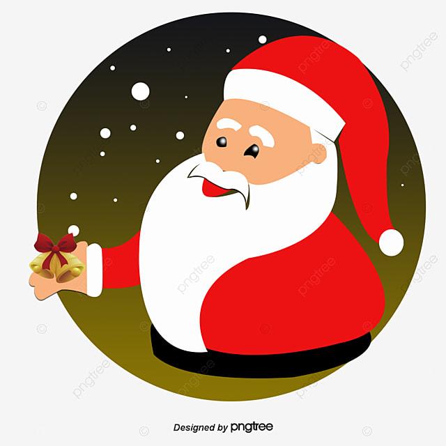 santa claus presents christmas santa claus ribbon decoration png and psd - Santa Claus Presents