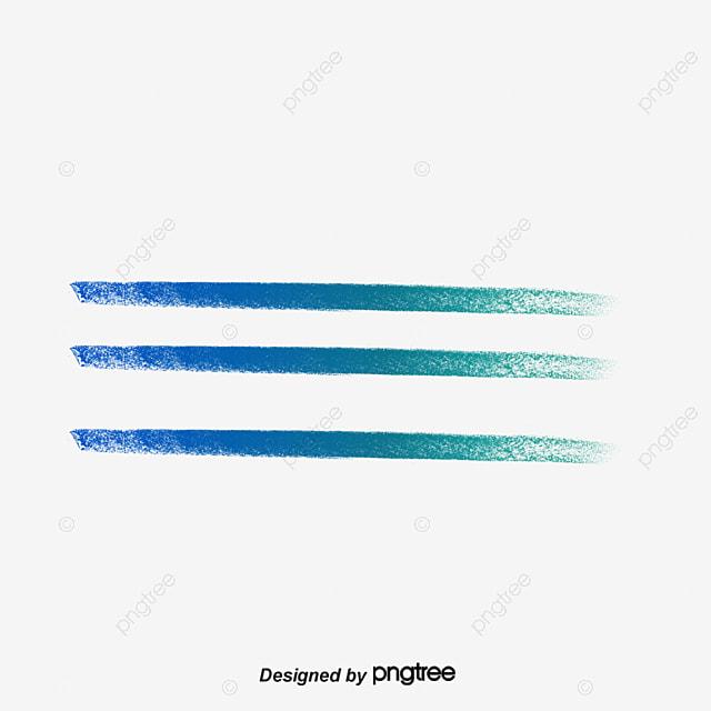 Line Design Art Psd : Colorful underline decoration color line