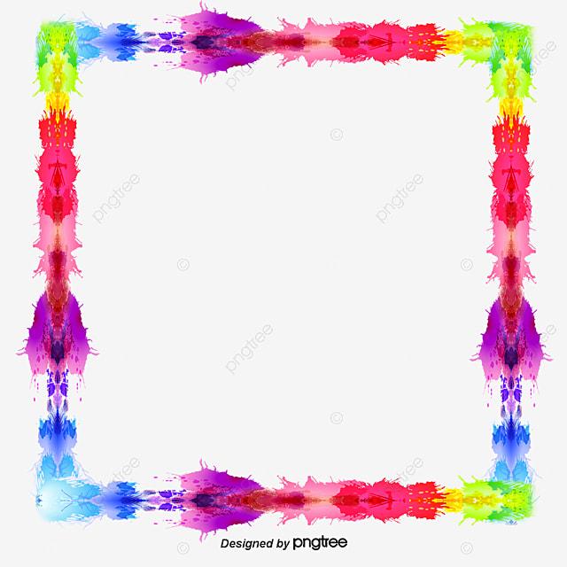 creative color ink box color border creative borders