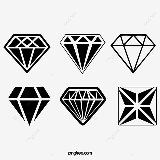 Gray Diamond Diamond Pile Transparent Diamond Diamonds