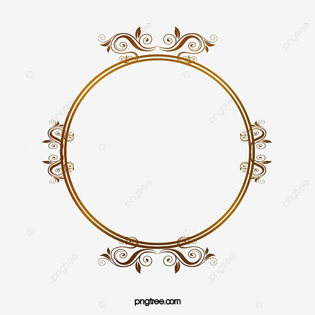 quadro de c u00edrculo dourado golden o c u00edrculo quadro png