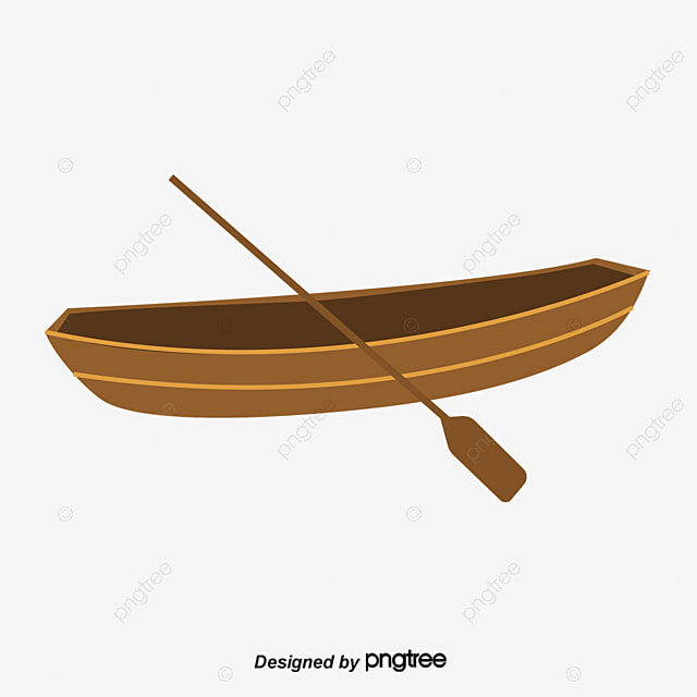 A Boat, Boat Clipart, River Water, Brook PNG Transparent ...