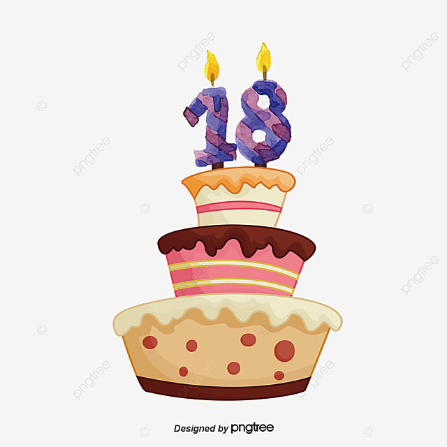 28 Birthday Cake Clipart Vector Png PNG And