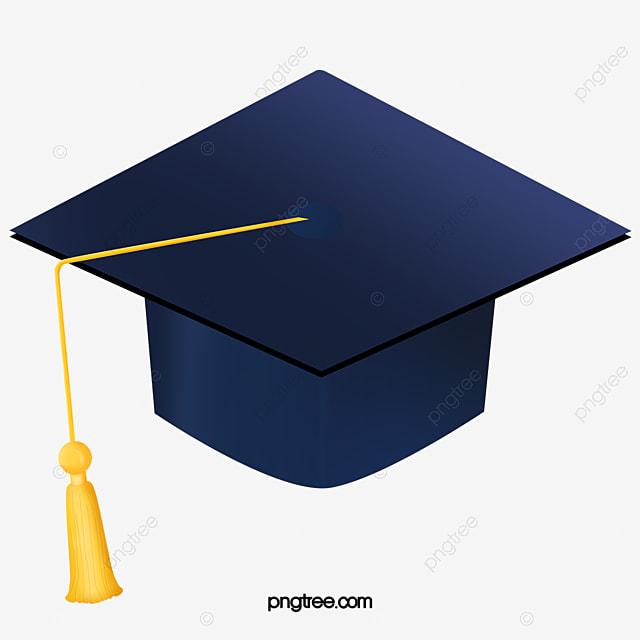 Azul Escuro Chapéu De Formatura Vector Png Formatura Pós Graduação