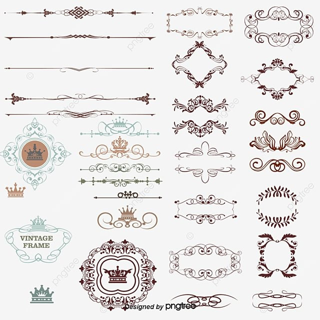Фото узоры для короны
