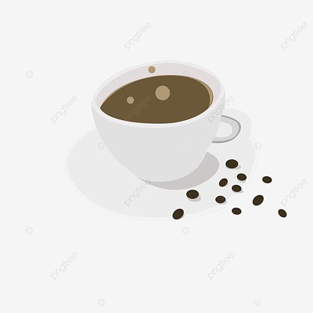 caf u00e9 noir caf u00e9 grains de caf u00e9 cr u00e9atif image png pour le