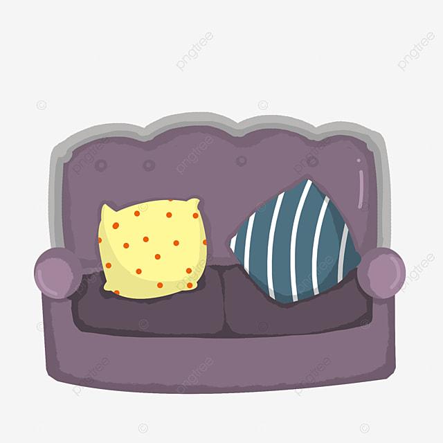 Furniture City Comfortable Sofa Furniture Clipart