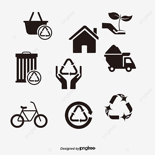 the garbage truck into the basket truck vector truck clipart