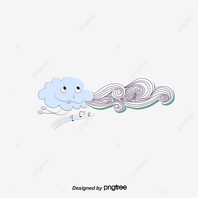 Le vent les nuages les nuages de lignes le vent souffle de - Nuage qui souffle ...