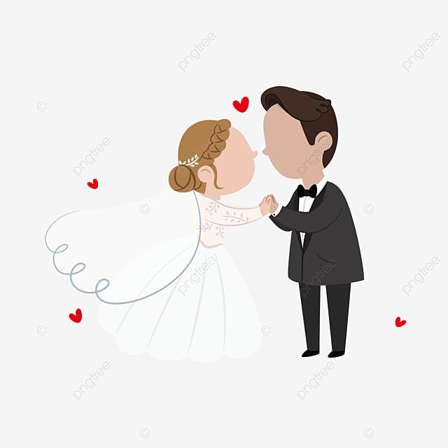 無料ダウンロードのための手描き結婚男女 手描き 花 結婚式 png画像