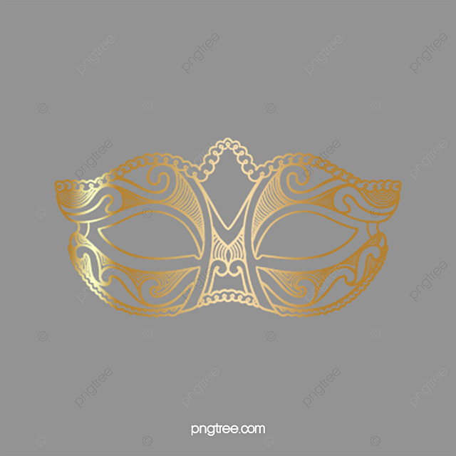 superbe or masque or masque halloween de casque image png