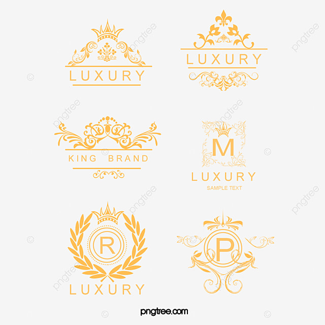 decorative border luxurious style royal style yellow