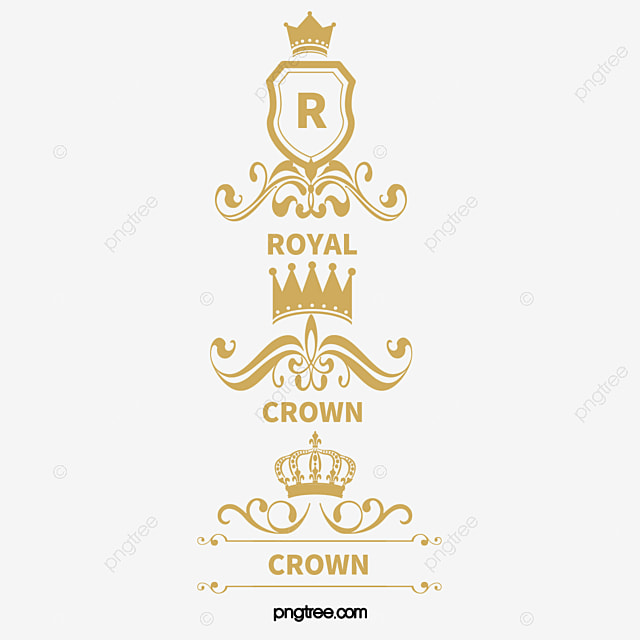 royal crown royal classic luxury crown logo crown decoration png rh pngtree com royalty vector graphics royalty vector free download