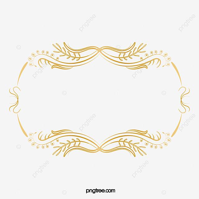 Banda Sonho Dourado Fantasia A Estética Moldura PNG