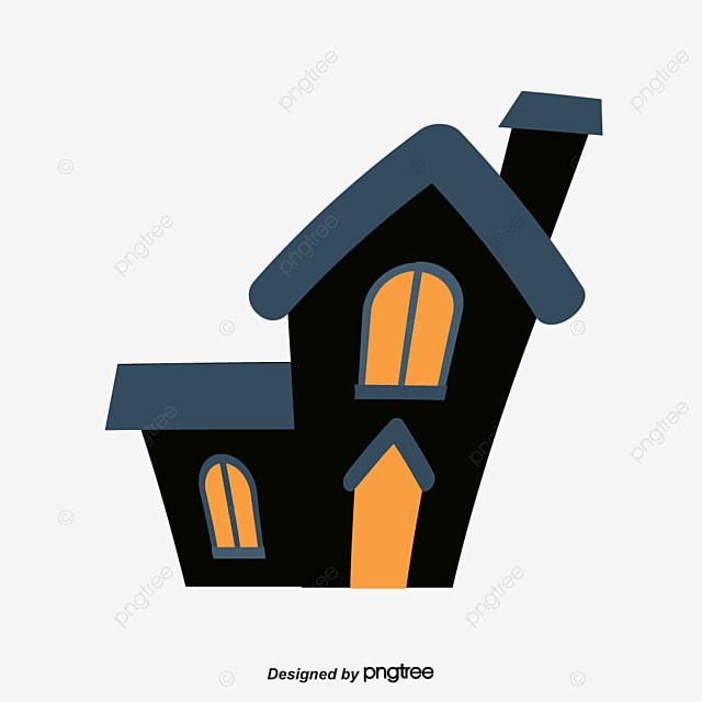black halloween party castle  vector png  castle Pumpkin Clip Art Zombie Clip Art Black and White