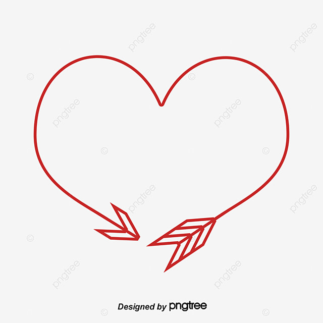 arrow hearts a circle arrow heart brush png and vector for free rh pngtree com vector heartworm vector heart outline