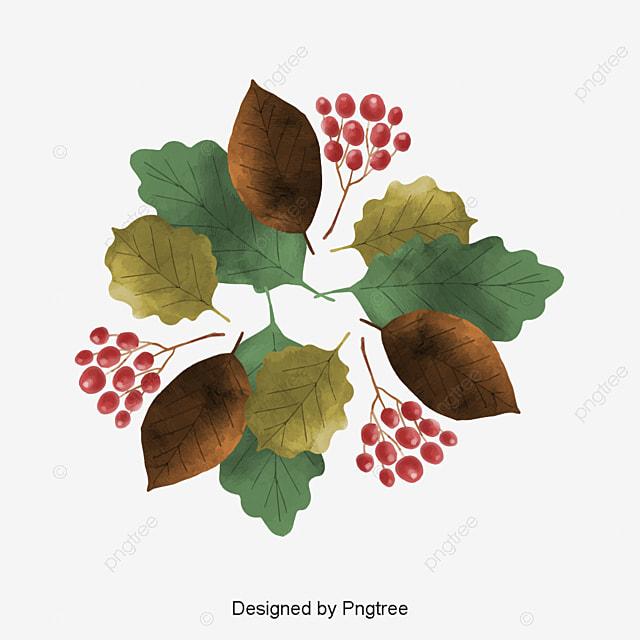 Caja acuarela hoja de oto o la partida vector png leaf - Descargar autumn leaves ...