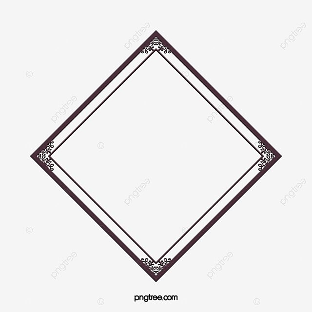 diamond border shape diamond book frame png and vector for free rh pngtree com diamond shape vector images diamond shape vector free download