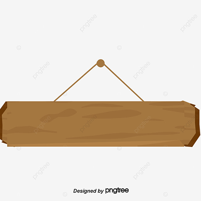 Wooden Ornaments Title Box Vector Png Board Corrugated