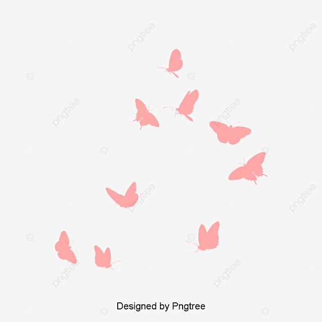 fleur papillon fille silhouette le papillon jeune fille la