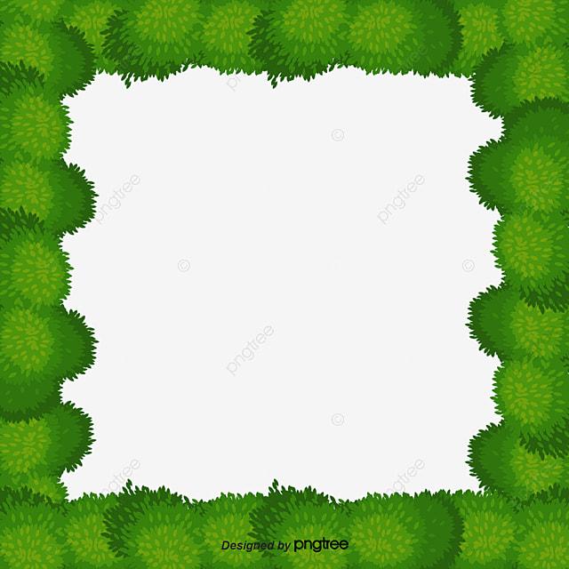 Green Tree Border, Green Vector, Tree Vector, Border ...