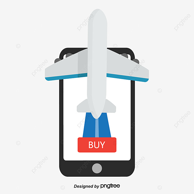 Book Airline Tickets Online Vector Png Plane Ticket