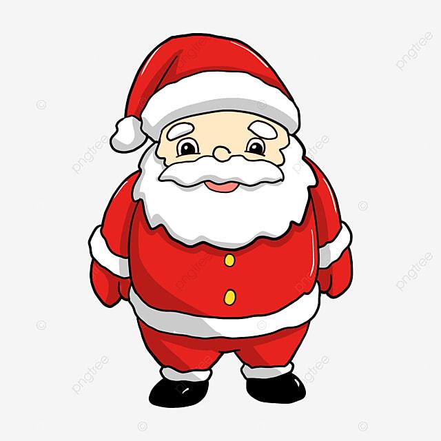red cartoon santa claus, gules, cartoon, santa claus png image and