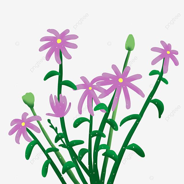 Purple Flower Frame, Flower Clipart, Frame Clipart, Violet PNG Image ...