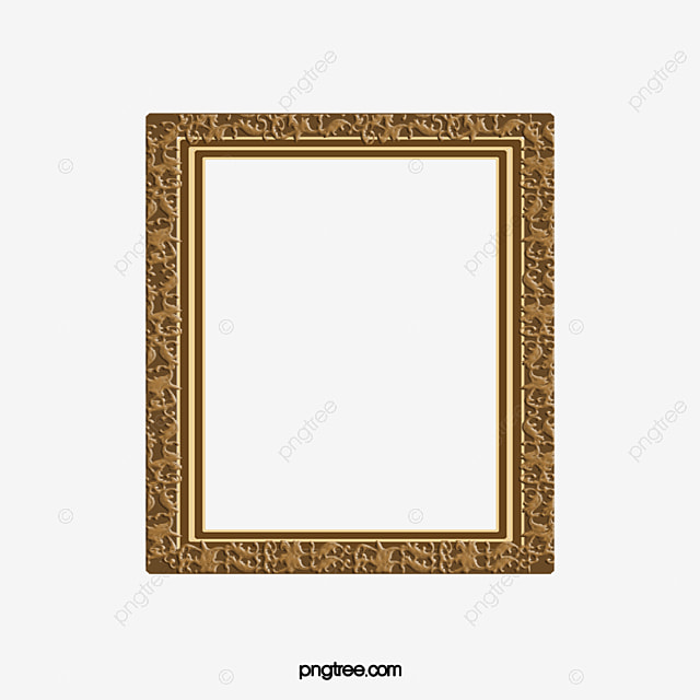 Classical Flower Frame The Flower Box Cartoon Book Frame Png And