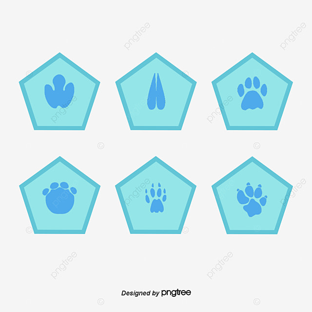 Dinosaur Paw Print PNG Images | Vector and PSD Files | Free