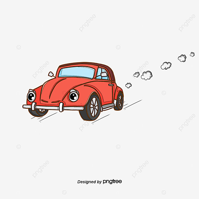 Car Brief, Automobile, Hand Drawn Car, Retro Car PNG And Vector