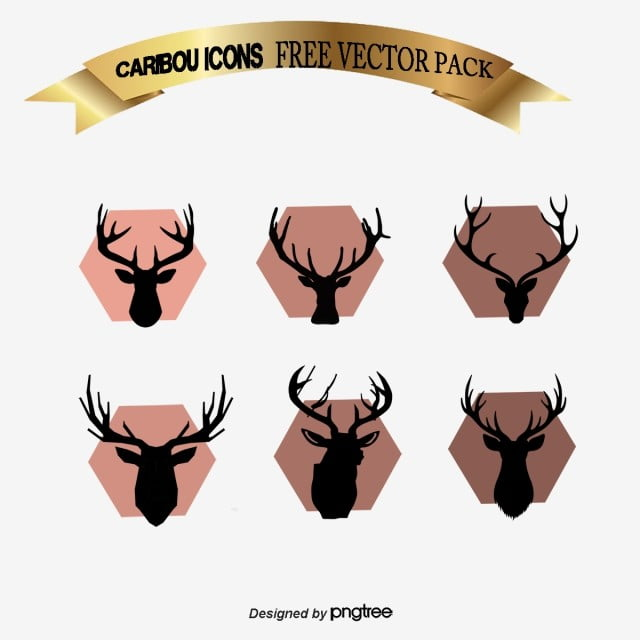 logo nordic deer head deer head northern europe png and rh pngtree com deer logo pictures deer logo images