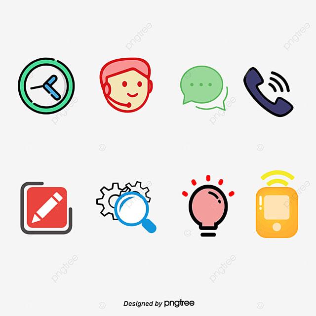 Internet Servicio Al Cliente Dibujos Animados De Servicio