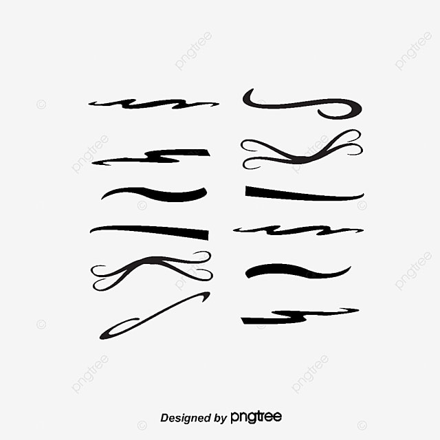 Curved Line Design Clipart : A curved wave diagram fluctuation curve bend