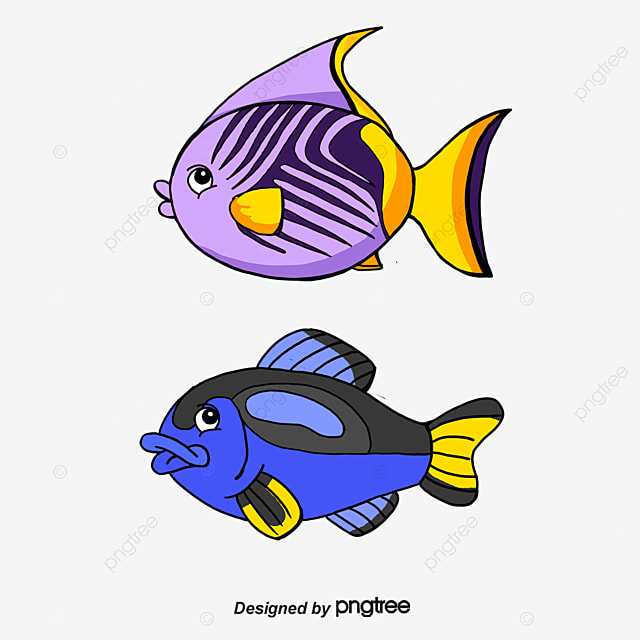 cartoon blue fish vector cartoon vector blue vector fish vector rh pngtree com fish vector graphic fish vector underwater lighting