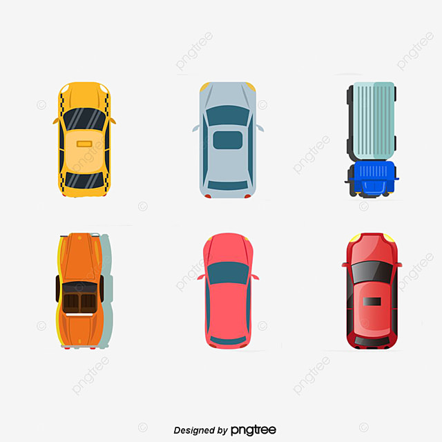 Car Top View Car Clipart Colour Metallic Png Image And Clipart