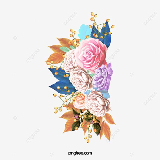 Free Ppt Backgrounds Desktop Wallpaper Flower Pink Lotus: Watercolor Flowers Pink Flor Hoja Verde Imagen PNG Para